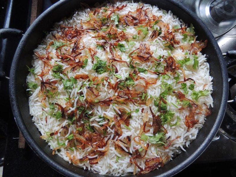 מתכונים בעשר דקות - תבשיל אורז הודי